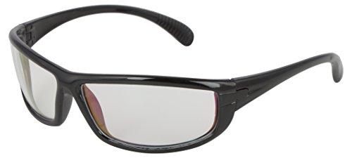 FADDISH Anti-Reflective Wrap Unisex Sunglasses (BO35BTBWP|65 | Transparent)