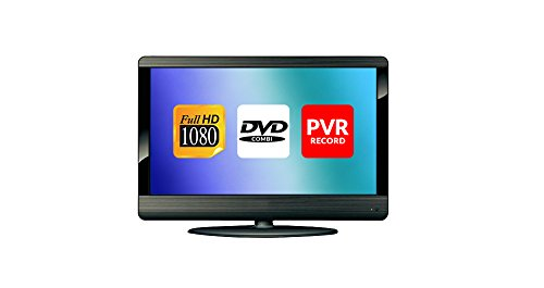 "23"" Grey Full HD LCD 1080p DVD Combi TV Freeview, HDMI, USB PVR Record"
