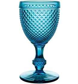Amazon.com | Vista Alegre Bicos Set 4 Goblets Blue: Goblets & Chalices