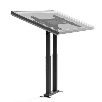 """Adjustable Ergonomic Touchscreen Tilt Universal Floor Stand Mount For 32"""" - 56"""" Flat Panel Screens"""