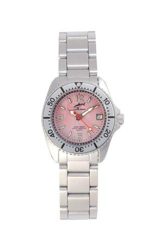 Chris Benz One Lady CBL-R-SI-MB Reloj elegante para mujeres Reloj de Buceo