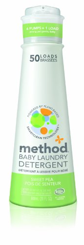 Method Baby Laundry Detergent, Sweet Pea, 20-Ounce