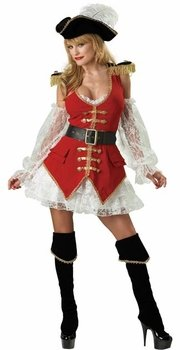 Sexy Pirate Halloween Costume For Women (Adult Sizes) - High Quality And Brand New!