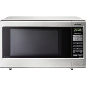 Panasonic 1.2-Cu Ft Microwave Oven, Stainless Steel