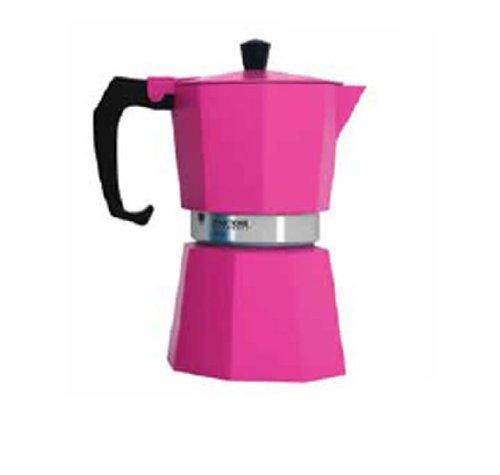 Pantone Coffee Percolator 3 Cup Hot Pink