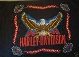 NEOPlex 3' x 5' Harley Davidson Plain Eagle Flag