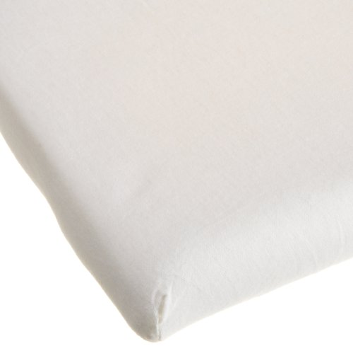 Carters Easy Fit Jersey Cradle Fitted Sheet, Ecru back-893233