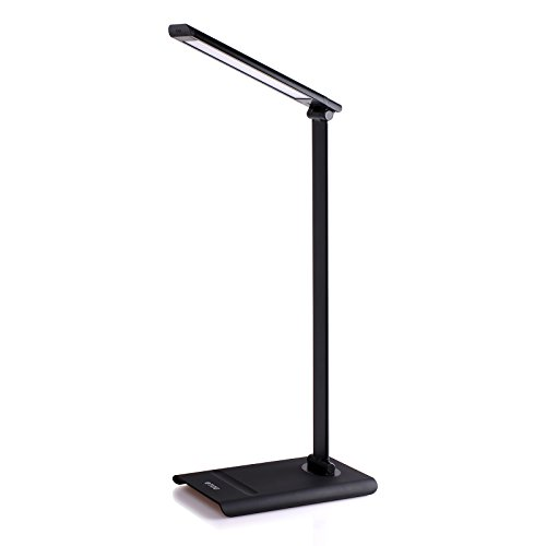 TROND® Halo 9W Aluminum Eye-Protection LED Study Light Desk Lamp (3 Lighting Modes, 7-Level Dimmable, Touch-Controlled, Memory Function, Max. 450 lumens, Flicker-Free, No Ghosting & Anti-Glare, Matte Black) (Function Led Eye Protection compare prices)