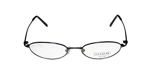 [Coach Cassidy 301 Womens/Ladies Designer Full-rim Eyeglasses/Eye Glasses (48-17-135, Black)] (Full Plastic Iron Man Costume For Sale)