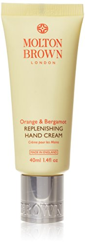 Molton Brown Orange & Bergamot Replenishing Hand Cream, 40ml **instantly absorbed daily treat **