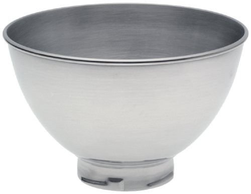 New Kitchenaid Kb3ss 3-quart Stainless Steel Bowl for Pivot Head Stand Mixers Gift for Your Family