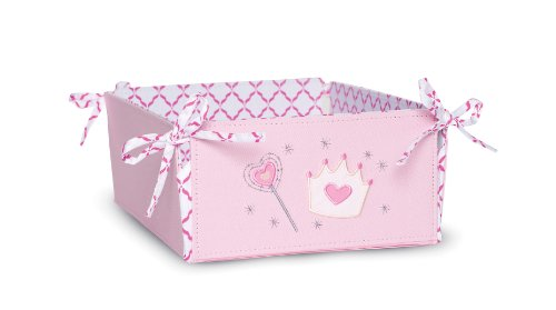 Kids Line Decor Storage with Ties, Shoppe Princess (Discontinued by Manufacturer)