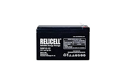 Relicell 12V 12AH UPS Battery