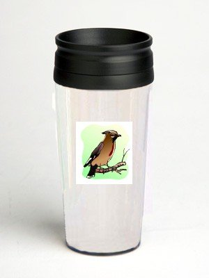16 oz. Double Wall Insulated Tumbler with song bird - Paper Insert