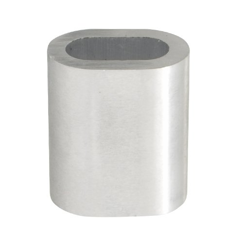 Pressklemme aus Aluminium 2mm, 9mm