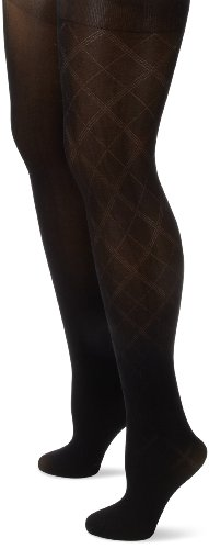 Anne Klein Women's 2 Pair Pack Argyle Tight