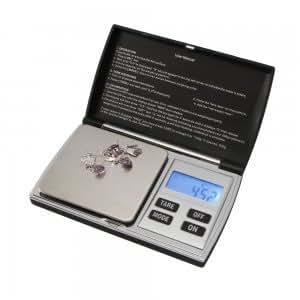 TRADER 01001 -BILANCIA TASCABILE DI PRECISIONE (100g.MAX/0.01) Bilancino RETROILLUM.BLU: Amazon ...