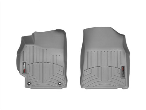 WeatherTech Front FloorLiner for Select Toyota Camry Models (Gray) (2014 Camry Weathertech Floor Mats compare prices)