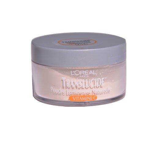 L'Oreal Paris Translucide Naturally Luminous Loose Powder, Translucent, 0.5 Ounce