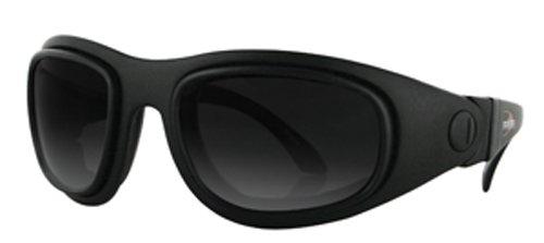 Bobster Sport And Street 2 Prescription Ready Sunglasses,Bssa201Ac-Black