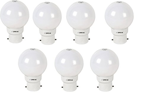 1W LED Bulb (Cool Day Light , pack of 7)