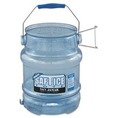 San Jamar Si6100 Original And Shorty Saf-T-Ice Tote, 5 Gallon Capacity back-582316