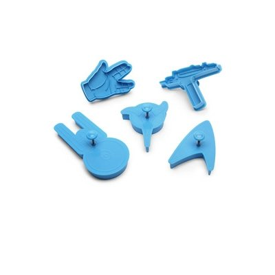 Star Trek Cookie Cutters (Set of 5) by Think Geek