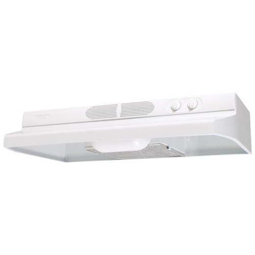 Air King QZ2303 Quiet Zone Under Cabinet Range Hood, 30 Inch Wide, White (30 White Range Hood compare prices)