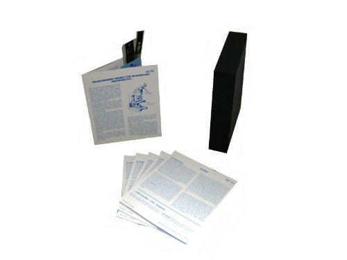 American Educational Microslide Measurement Under Microscope Lesson Plan Set (Box Of 30)