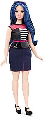 Barbie Fashionistas Doll 27 Sweetheart Stripes - Curvy from Mattel