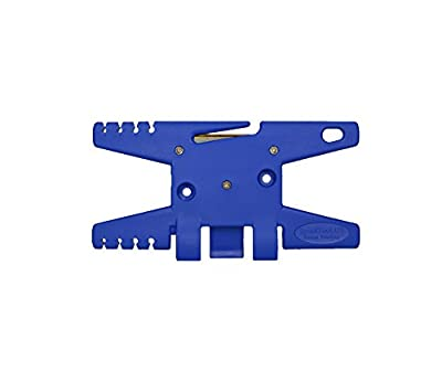 Paracord Spool Tool (Blue)- Holds up to 100' of Parachute Cord from TricornE