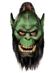 World Of Warcraft Deluxe Latex Mask, Orc by M'margaret