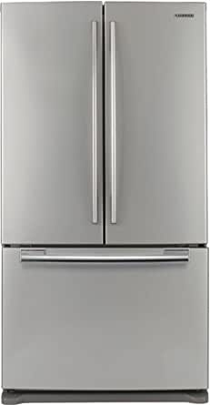 Samsung : RF266ABRS 26 cu. ft. French-Door Refrigerator - Real Stainless
