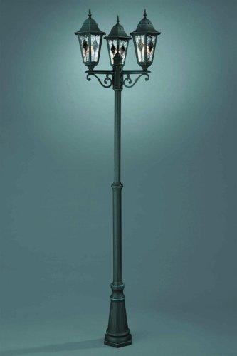 Außenstandleuchte Standleuchte Standlampe Wegeleuchte 3-flammig NM