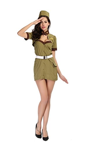 Fashion Queen Women's Air Force Costume