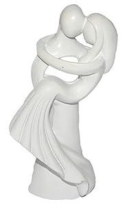 3 d figur hochzeitspaar modern 10 cm tischdeko zur for Dekofiguren modern