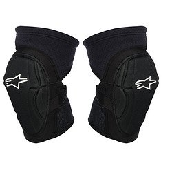 Alpinestars Fierce Knee Guard, Small/Medium, Black/White