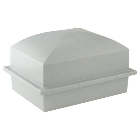 Basic Urn Vault Single - Gray (Burial Urn Vault compare prices)