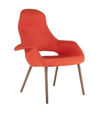 Control Brand Organic High Back Chair, Orange