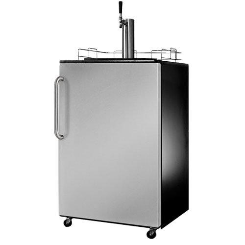 Summit Appliance SBC490 Series Kegerator With Stainless Steel Door