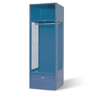 Stadium Locker with Shelf and Footlocker by Penco
