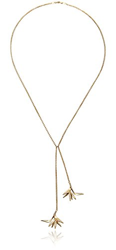 House-of-Eleonore-18k-Yellow-Gold-Bird-of-Paradise-Double-Drop-Strand-Necklace