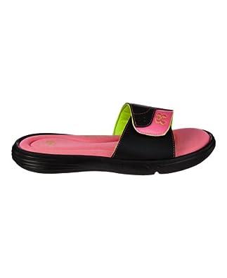 Under Armour Women's UA Ignite VI Sandal 6 Black