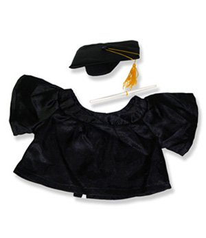 "Graduation - 9900 Fits 15"" - 16"" bears, includes Build a Bear, The Bear Mill, and Stuff your own Animals. - 1"