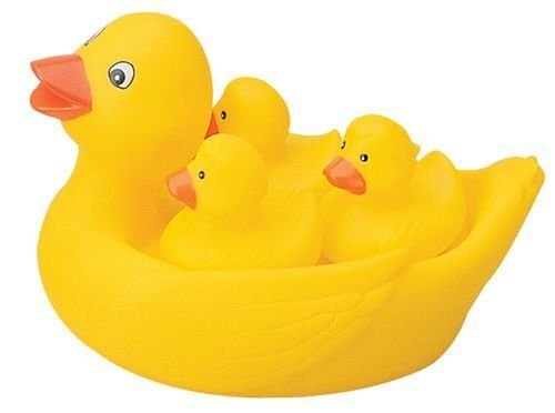 Bath Duck Bath Family Set