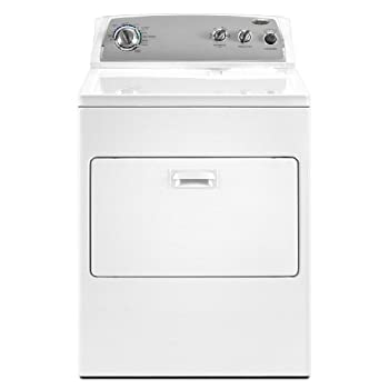 Whirlpool Wgd4900xw 7 Cu Ft White Gas Front Load Dryer