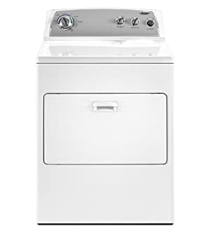 Whirlpool WGD4900XW 7 Cu. Ft. White Gas Front Load Dryer