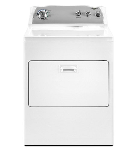 Whirlpool WGD4900XW 7 Cu. Ft. White Gas Front