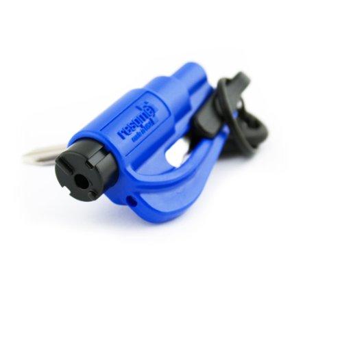 Resqme GBO-RQM-BLAU Das Rettungswerkzeug als Schlüsselanhänger, Blau