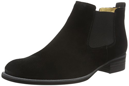 Gabor Shoes Fashion, Stivali Chelsea Donna, Nero (Schwarz 17), 35 EU